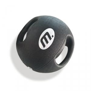Medicinboll med handtag från master fitness